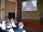 Общешкольный просмотр фильма «Гагарин. Первый в космосе».